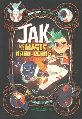 Jak and the Magic Nano-beans: A Graphic Novel by Carl Bowen (Paperback, 2016)
