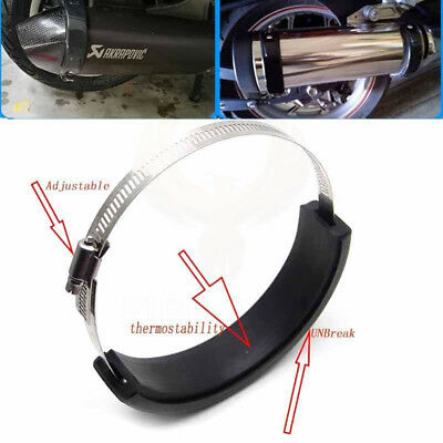 Motorcycle Exhaust Protector Can Cover For Yamaha FJR 1200/1300 YZF-600 MT-03