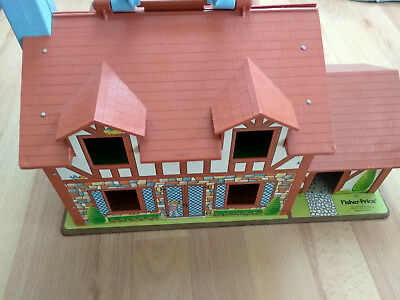 Fisher Price Play Family Fachwerkhaus spätere Little People