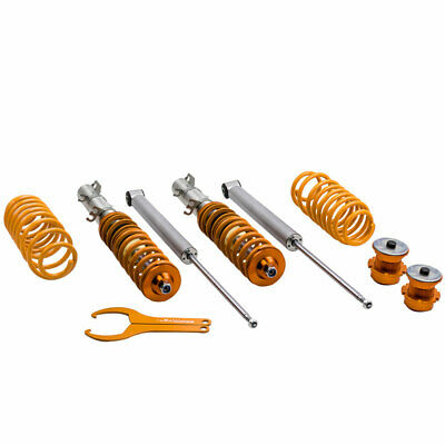 Height Adjustable Suspension for VW GOLF MK4 CABRIO Bora 1J Lowering Coilover