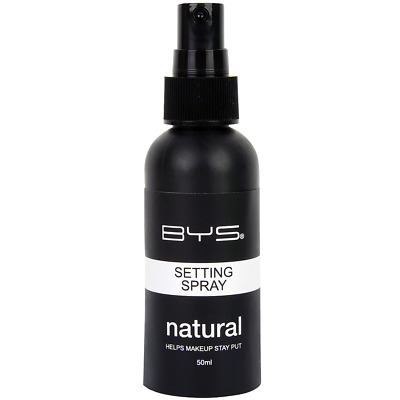 BYS Maquillage - Spray Fixateur de Maquillage Fini Naturel