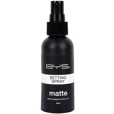 BYS Maquillage - Spray Fixateur de Maquillage Fini Mat