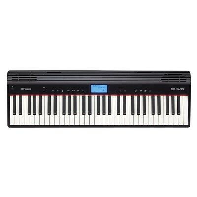 Roland Go:Piano 61 Key Digital Piano Ideal for Developing Students w/ Bluetooth