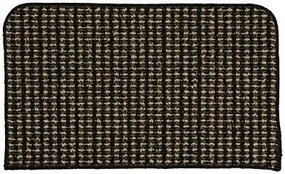 Garland Rug Berber Colorations Kitchen Slice Rug, 18-Inch by 30-Inch, Black