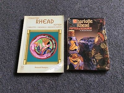 2 Collecting Charlotte Rhead Pottery Collectors Guide Book(S) By Bernard Bumpus