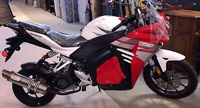 2017 Tao Tao Racer 50cc Scooter (Red) - NEW: ZERO MILES (See Item Description)