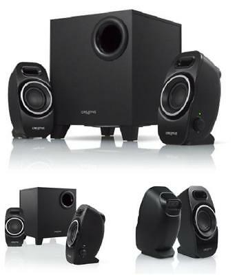 CREATIVE A250 21 Speaker System With DownFiring Ported Subwoofer