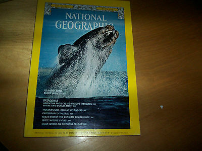 national geographic magazine march 1976