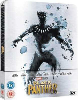 Black Panther 3D Limited Edition Steelbook (Includes 2D Version) Pre Order