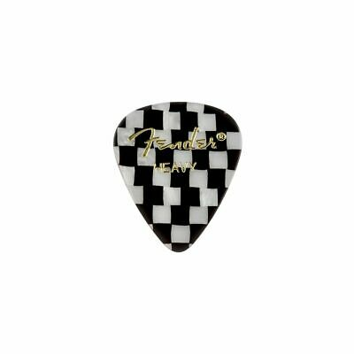 NEW Fender 351 Premium Celluloid Picks BLUE MOTO #098-0351-702 Thin 12