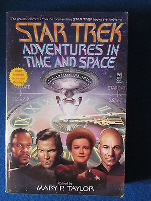 Star Trek - Adventures in Time and Space - Soft Cover Book - 1999 -Mary P Taylor