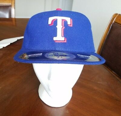 half off 0e644 974df ... inexpensive nwt mlb texas rangers authentic on field game 59fifty cap  new era size 7 1