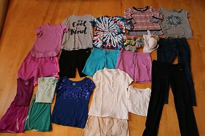 Girls Clothing Lot Size 14, Justice & more, 26 pcs
