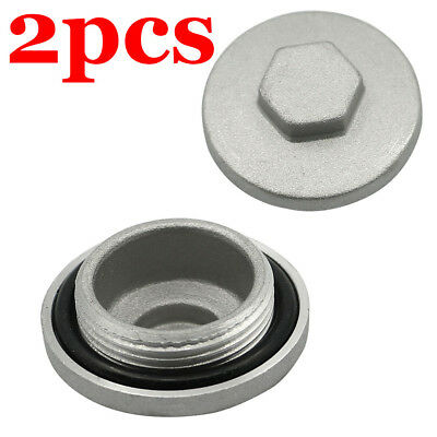 2PCS Valve Adjustor Cap Tappet Cover Covers For Honda Replace No. 12361-300-000