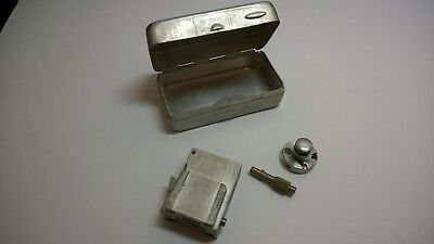 Vintage Hakosyn D.R.A.M. 3A Flash Shoes Adapter In Original Box 4369G Germany