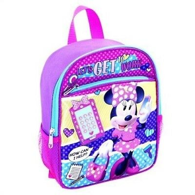 """Disney Minnie Mouse 10""""  Mini Toddler Backpack"""