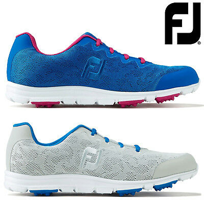 Footjoy Ladies Enjoy Spikeless Comfort Womens Golf Shoes - Wide Fit
