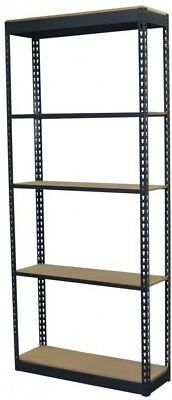 Storage Concepts 72 in. H x 36 in. W x 12 in. D 5-Shelf Steel Boltless Shelving