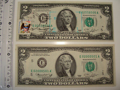 $5 Banknote Dual Overlay GOLD HOLOGRAM /& POLYCHROME COLOR $5 U.S Bill 2-Sided