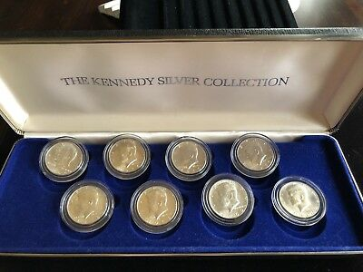 The Kennedy Silver Collection - 8 Coin Set