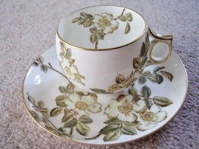 Stoke Crescent china England porcelain-china cup and saucer