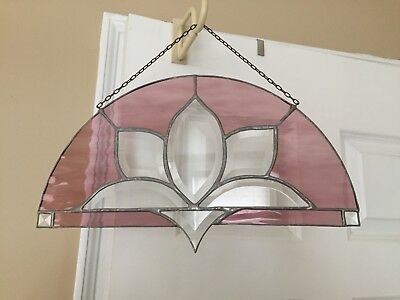 stained glass suncatcher panel