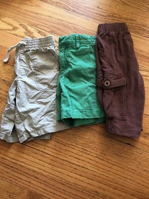 Lot Of Boys Shorts Size 5 Khaki Old Navy Gap Tea
