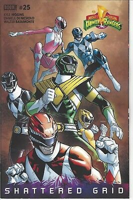 Mighty Morphin Power Rangers #25 Unlockable Variant Cover