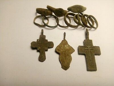 Mix  ancient  lot. Metal detector finds N17