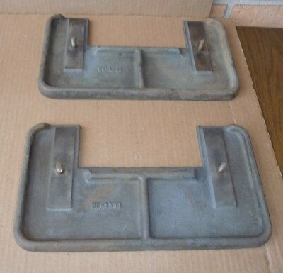 Cast Iron Table Pieces for Baldor Carbide Cutter Grinder, 2 Available, BE-1537