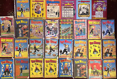 Oor Wullie & The Broons job lot various conditions - Comics & Annuals 30 total