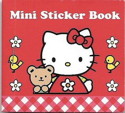 Vintage 1976 1998 Sanrio Hello Kitty Mini Sticker Seal Book New