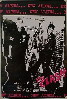 Affiche Groupe THE CLASH