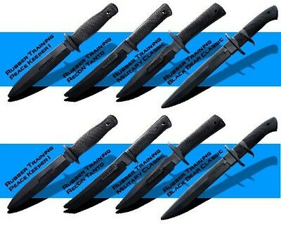 Cold Steel Rubber Training practice Knife Knives 8 Set