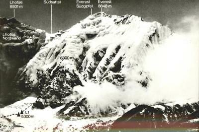 11336929 Nepal Mount Everest Ostwand Tibet Herrligkoffer Expedition Nepal
