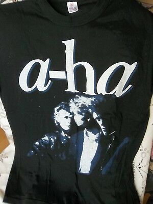 Vintage A-HA  1986 Black T-Shirt M