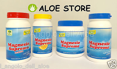 Magnesio Supremo Natural Point - 8 Gustos Elección: Natural - Limón - Cereza