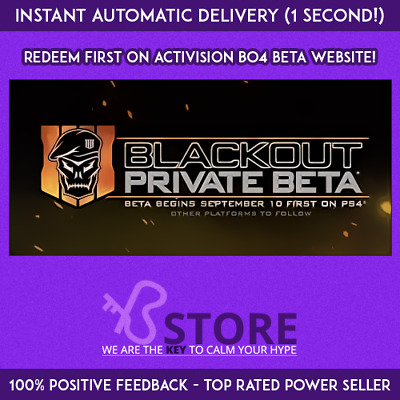 Black Ops 4 Blackout Beta Key - Call of Duty BO4 - PC / PS4 / Xbox One - INSTANT
