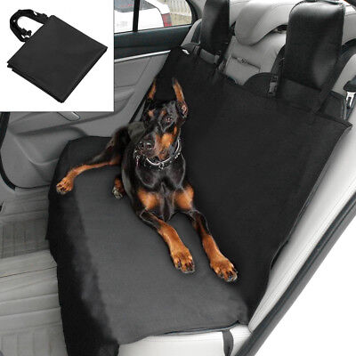 "55"" Dog Seat Cover Oxford Waterproof Hammock Dog Car Vehicle Back Seat Protector"