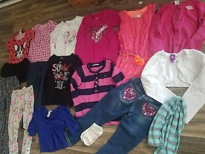Toddler girls size 5t 6 6x huge lot clothes spring Summer Ralph Lauren simpson