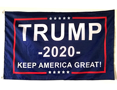 Rare! Trump 2020 Flag Double Sided Printed Donald Trump Flag Keep America Great