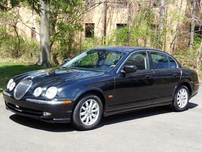 2002 Jaguar S-Type 4.0L LOADED! 1-OWNER! CLEAN CARFAX! 84K Mls! NO RESERVE SUNROOF PARKTONIC LEATHER HEATED/MEMO CD-CHANGER KEYLESS ENTRY CLEAN