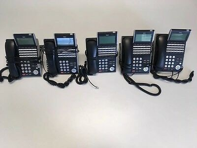 5 x NEC DT300 DTL-24D-1A 24-Button Handsets, SV8100 SV8300 Telephones (Five)