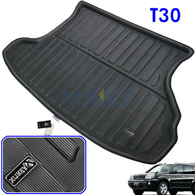Rear Cargo Trunk Mat Boot Liner Floor Tray For Nissan X-Trail XTrail T30 2001-07