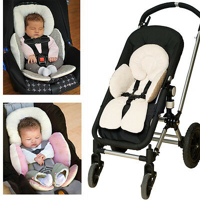 Newborn Baby HeadBody Support Infant Pram Stroller Car Seat Pillow Two Sided