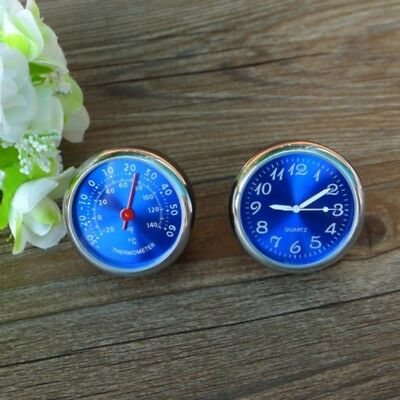 1 PCS Car Thermometer Meter Luminous Quartz Clock For Dashboard Outlet Ornaments