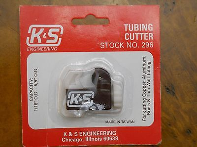 K & S #296 Tubing Cutter (New In Package)