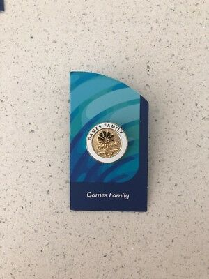 GC2018 Commonwealth Games Pin - Games Family RARE