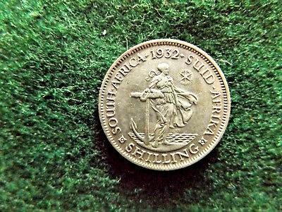 South Africa 1932 Silver Shilling