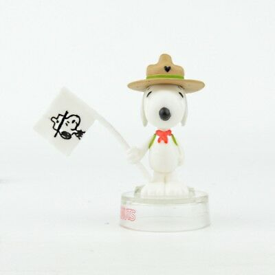 Peanuts Snoopy Figure Collection Takara Tomy 2-Inch Figure - Beagle Scout